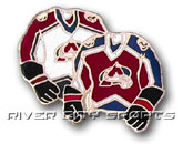 DOUBLE SWEATER PIN in COLORADO AVALANCHE Found in: NHL > COLORADO AVALANCHE > Souvenirs > Pins