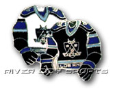DOUBLE SWEATER PIN in LOS ANGELES KINGS Found in: NHL > LOS ANGELES KINGS > Souvenirs > Pins