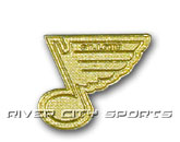 GOLD LOGO PIN [OLD STYLE LOGO] in ST. LOUIS BLUES Found in: NHL > ST. LOUIS BLUES > Souvenirs > Pins
