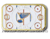 RINK PIN [OLD STYLE LOGO] in ST. LOUIS BLUES Found in: NHL > ST. LOUIS BLUES > Souvenirs > Pins