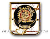 PUCK PIN [ALTERNATE STYLE LOGO] in FLORIDA PANTHERS Found in: NHL > FLORIDA PANTHERS > Souvenirs > Pins