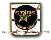 PUCK PIN in MINNESOTA NORTH STARS Found in: NHL VINTAGE > MINNESOTA NORTH STARS > Souvenirs > Pins