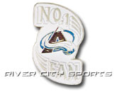 NO. 1 FAN PIN in COLORADO AVALANCHE Found in: NHL > COLORADO AVALANCHE > Souvenirs > Pins