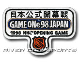 1998 NHL OPENING GAME JAPAN PATCH in NHL Found in: NHL > NHL > Jerseys > Patches