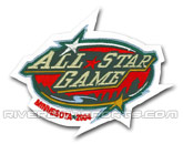 2004 ALL STAR PATCH in ALL STAR Found in: NHL > ALL STAR > Jerseys > Patches