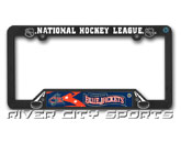 NHL LICENSE PLATE FRAME in COLUMBUS BLUE JACKETS Found in: NHL > COLUMBUS BLUE JACKETS > Souvenirs > Lic.Plates